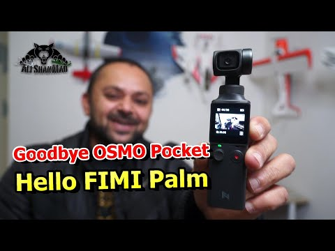 FIMI Palm 4K HD 3 axis handheld stabilized Gimbal Camera - UCsFctXdFnbeoKpLefdEloEQ