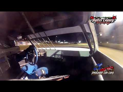 #24 Johnny Lipe - Pure Stock - 8-20-2021 Dallas County Speedway - In Car Camera - dirt track racing video image