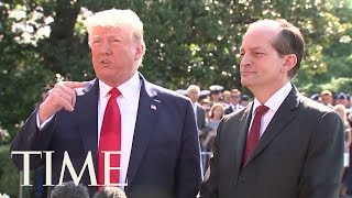 Labor Secretary Alexander Acosta Resigns After Criticism Of Epstein Plea Deal | TIME