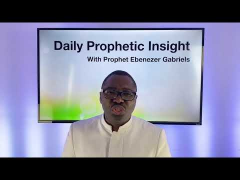 Yoke of Envy From Within is Broken, the Spirit of Counsel is Released- Jul 27,2020 Prophetic Insight