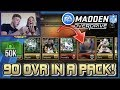 Madden NFL Overdrive 90 OVR MASTER PLAYER IN A PACK 50K MC Pack Opening!