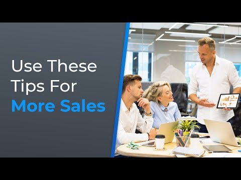 8 Tips to Increase Sales  Brian Tracy