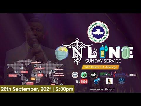 RCCG SEPTEMBER 26th 2021  PASTOR E.A ADEBOYE SPECIAL SERVICE