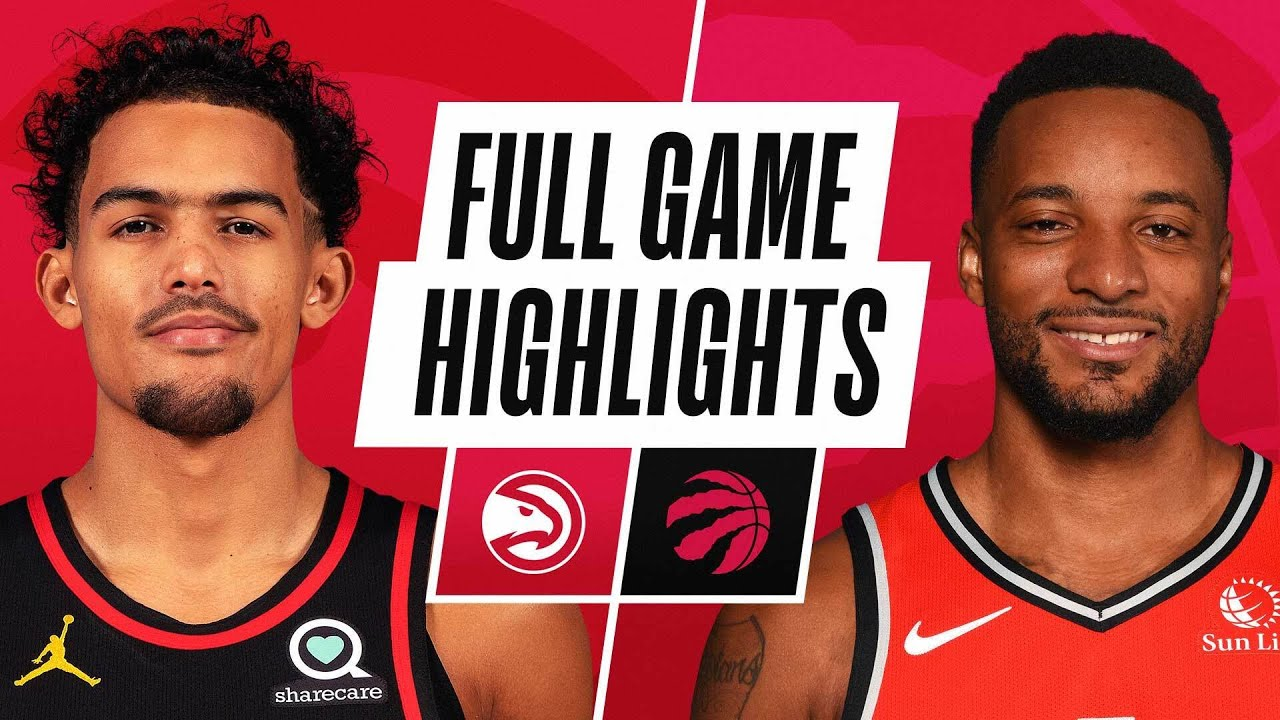 HAWKS at RAPTORS | FULL GAME HIGHLIGHTS | March 11, 2021
