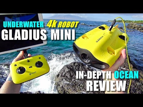 2019 Underwater Drone GLADIUS Mini 4K ROV Review - Part 3 -  [In-Depth OCEAN TEST, Pros & Cons] - UCVQWy-DTLpRqnuA17WZkjRQ
