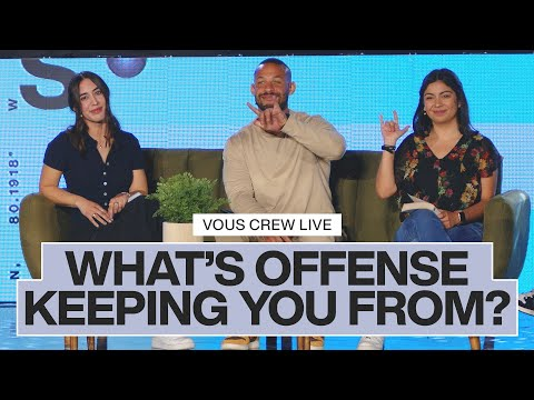 What's Offense Keeping You From?  Small Faith  VOUS CREW Live