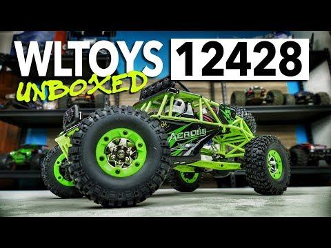 WLTOYS 12428 Rock Racer 4WD Unboxing - UCiqTEhDiWz1eb7exfWiy5TA