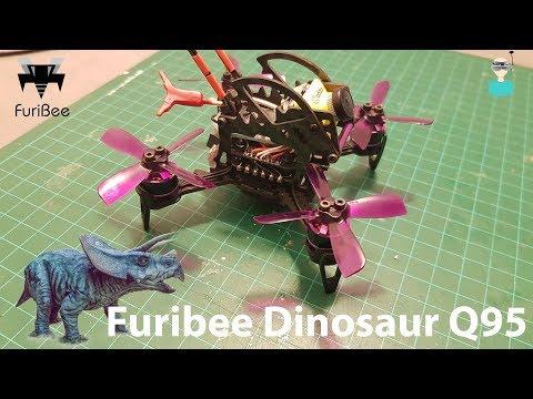 Furibee Dinosaur Q95 - Caddx Camera Upgrade, Review & Test Flight - UCOs-AacDIQvk6oxTfv2LtGA