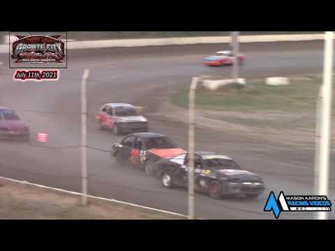 Granite City Motor Park WISSOTA Hornet A-Main (7/11/21) - dirt track racing video image