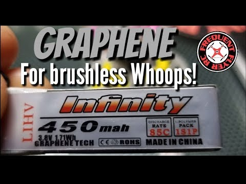 Infinity 450mah 1S HV Graphene Packs - Fuel For Your Brushless Whoop! - UCNUx9bQyEI0k6CQpo4TaNAw