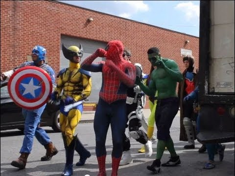 MARVEL Takes Over NYC Epic Flash Mob! - UCE3cM6f-H0mZlnvQafTqCyQ