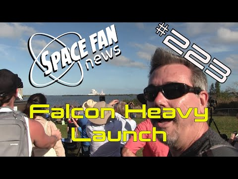 #FalconHeavy Launch; Planets from another galaxy?; #JWST Goes to California | SFN 223 - UCQkLvACGWo8IlY1-WKfPp6g