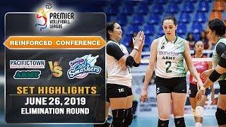 PacificTown-Army vs. Creamline   Set 1 Highlights - June 26, 2019   #PVL2019