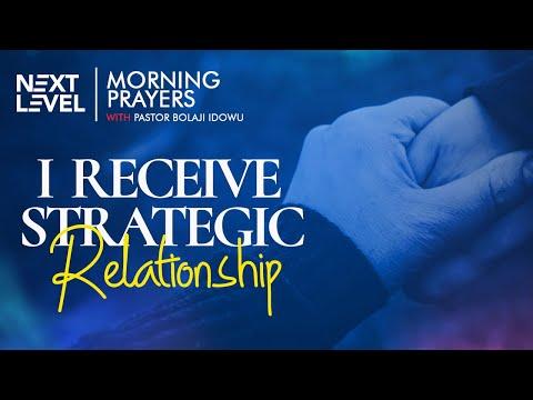 Next Level Prayers  I Receive Strategic Relationship  Pst Bolaji Idowu  28th September 2021