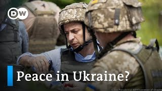 Zelenskiy raises hopes for peace in Ukraine | Focus on Europe