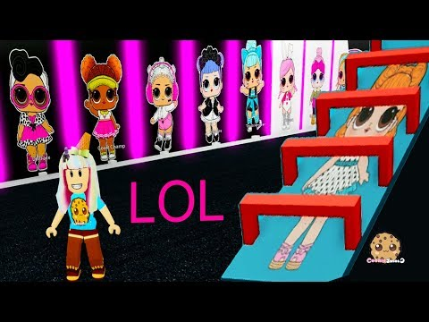 LOL Surprise OBBY ! Random Roblox Worlds Cookie Swirl C Game Play - UCelMeixAOTs2OQAAi9wU8-g