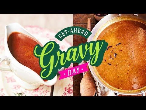 Meat & Vegan Gravy | Get Ahead Gravy Day | 14th December 2019 - UCpSgg_ECBj25s9moCDfSTsA