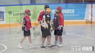 Junior B Lacrosse - Guelph Regals vs Elora Mohawks