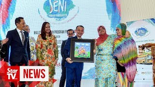 Maszlee launches Cendana's Arts Education Programme