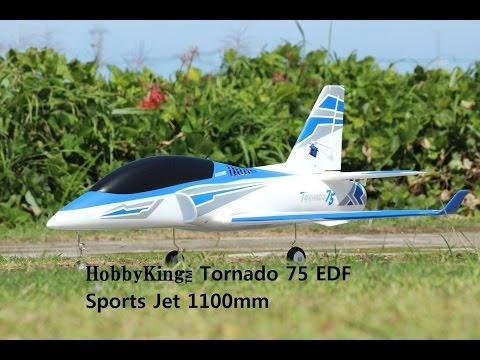 Tornado 75 PnF EDF Jet - HobbyKing Product Video