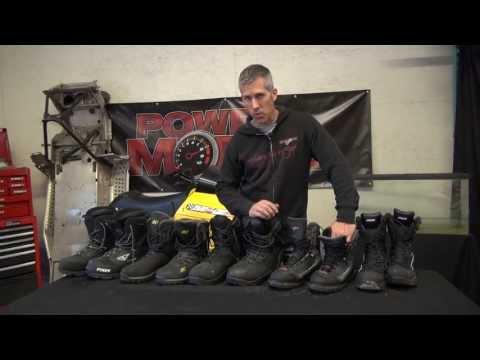 Snowmobile boot review, Klim, MotorFist, FXR, Castle!