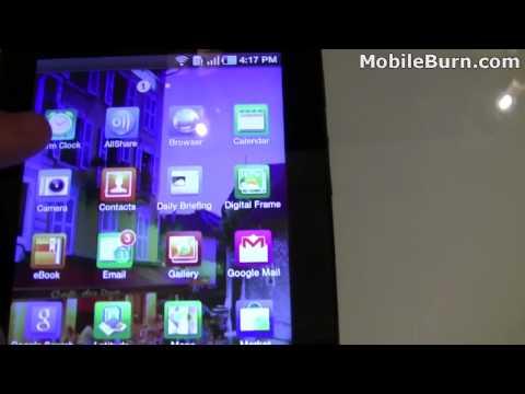 Samsung Galaxy Tab - initial hands-on look - UCuDKqqNs4vOb4vDWKYqb-yA