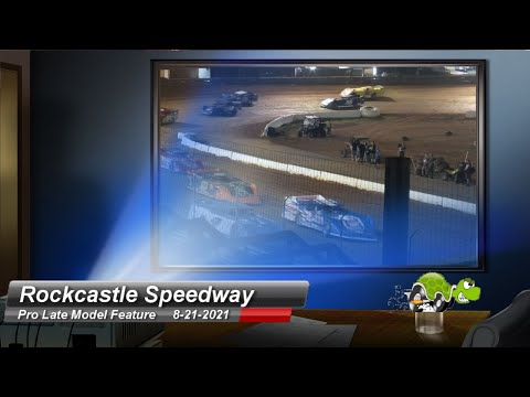 Rockcastle Speedway - Pro Late Model Feature - 8/21/2021 - dirt track racing video image