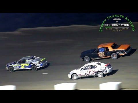 Desert Thunder Raceway Sport Mini Bomber Main Event 8/28/21 - dirt track racing video image