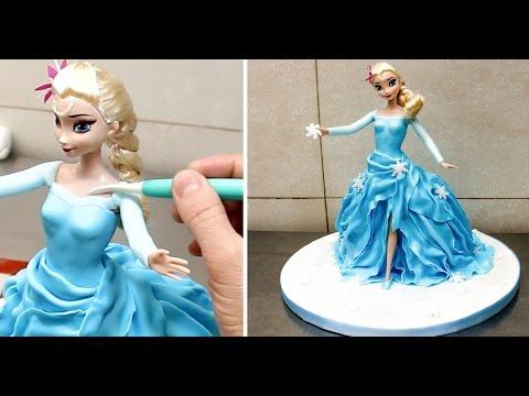 How To Make a Frozen ELSA Disney PRINCESS Cake/Torta Frozen - UCjA7GKp_yxbtw896DCpLHmQ