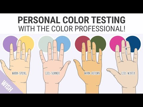 Finding Your Skin Undertones | Easy Personal Color Test with the Color Professional! - UC6sK-8-j1jmQFuxmuk9ainw