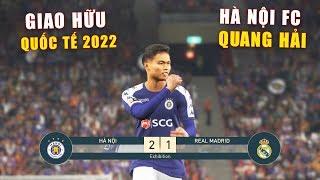 PES19 | Giao hữu Quốc Tế - Quang Hải vs Modric | Hà Nội FC vs Real Madrid - Giấc mơ Bóng Đá VIỆT NAM