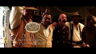 Chander Pahar Diaries | Ep 14 | International Cast n Crew Part I | Dev | Kamaleswar Mukherjee