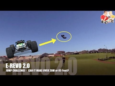 Traxxas E-Revo 2.0 VXL vs 1.0  BIG AIR Jump Challenge and More - UCFORGItDtqazH7OcBhZdhyg