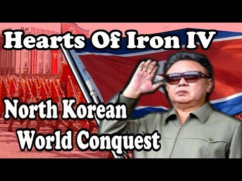 Hearts Of Iron 4: North Korean WORLD CONQUEST - Modern Day - default