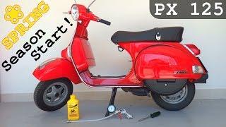 Come fare manutenzione VESPA PX