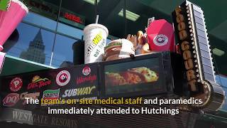 Man dies after taco-eating contest at California baseball game