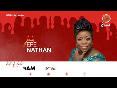 EFE NATHAN  MARATHON MESSIAH'S PRAISE 2020 INVITATION