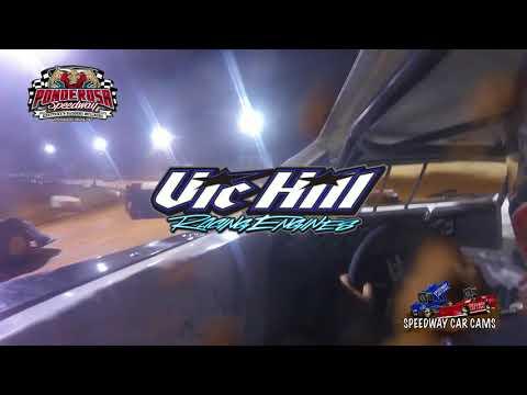 #3 Brandon Hardgrove - Crate Late Model - 10-14-17 Ponderosa Speedway - In Car Camera - dirt track racing video image
