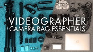 What's In My CAMERA BAG - Videographer ESSENTIALS