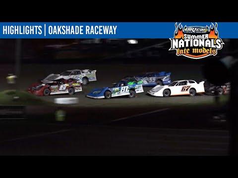 DIRTcar Summer Nationals Late Models Oakshade Raceway July 17, 2021   HIGHLIGHTS - dirt track racing video image