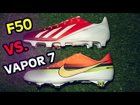 221474b475ae Nike Vapor 7 Review/Test: The Best Shoes in Football/Soccer Face Off & Free  Kicks