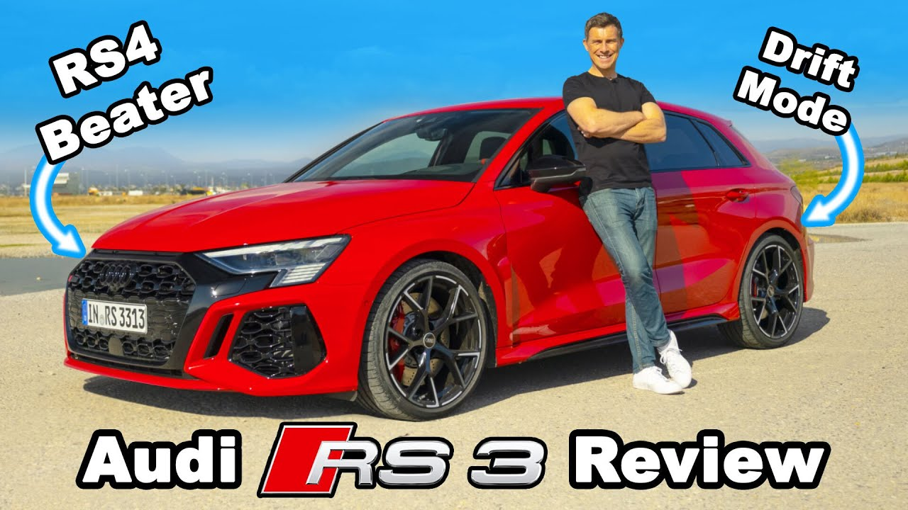 New Audi RS3 review – its 0-60mph & 1/4 mile will blow your mind!