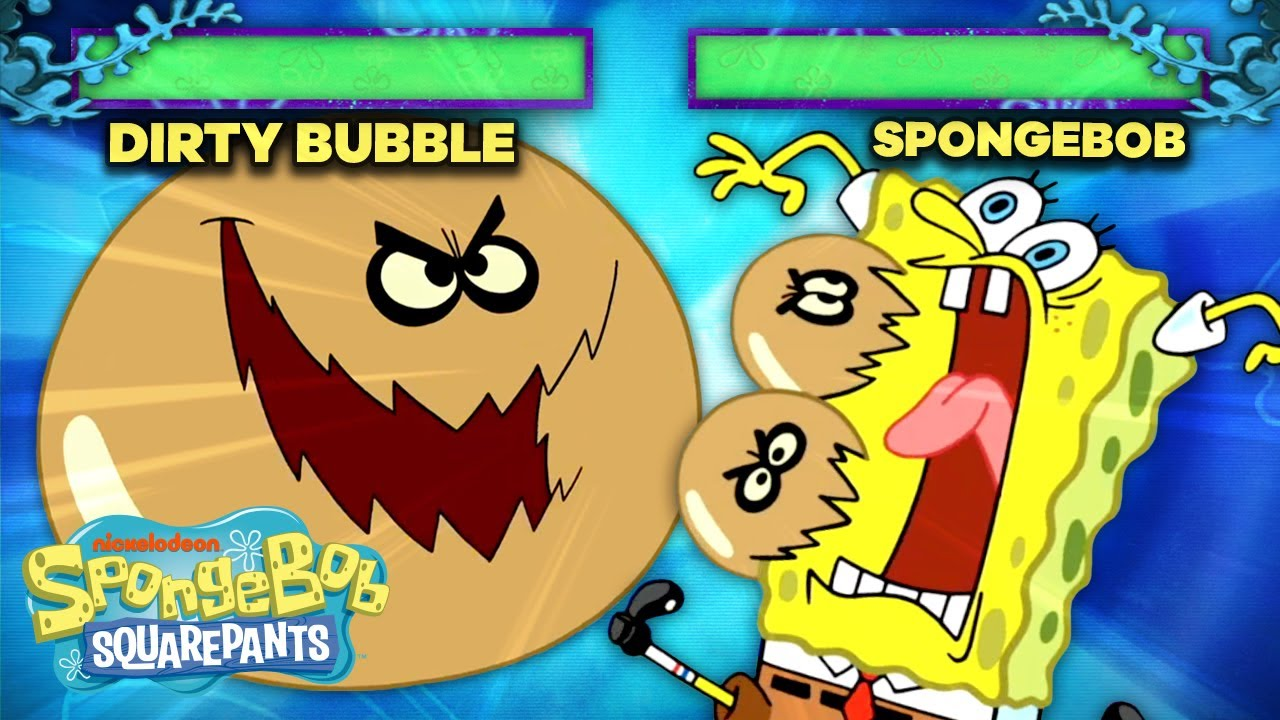 The Dirty Bubble Joins the Battle Arcade Arena! 🧼 🥊 SpongeBob SquareOff