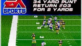 College Football USA '97 (video 1,485) (Sega Megadrive / Genesis)