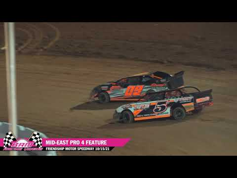 Mid-East Pro 4 Feature - Friendship Motor Speedway 10/15/21 - dirt track racing video image