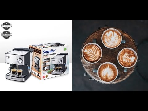 Espresso Electric Coffee Machine Express Electric Foam Coffee Maker Electric Milk Frother Kitchen