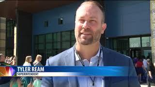 Jim Darcy school holds ribbon cutting