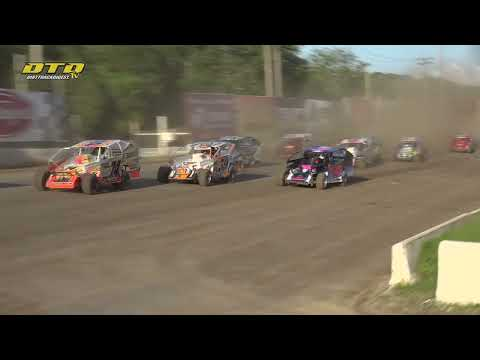 Lebanon Valley Speedway | Make-Up Modified Feature Highlights | 7/10/21 - dirt track racing video image