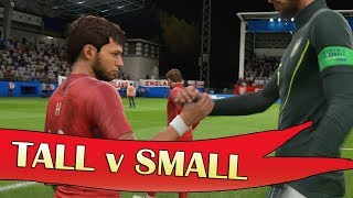 TALLEST TEAM vs smallest team!! | 11v11 PRO CLUBS Experiment | FIFA 19