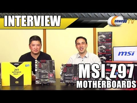 MSI Z97 Motherboard Interview - Newegg TV - UCJ1rSlahM7TYWGxEscL0g7Q
